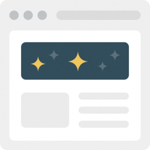Custom landing pages and content